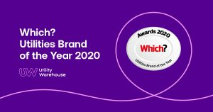 UW Which? Utilities Brand of the TYear 2020